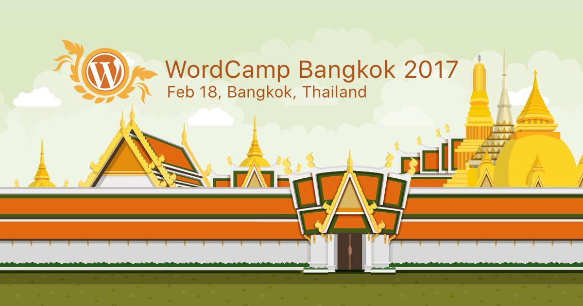 WordCamp Bangkok 2017